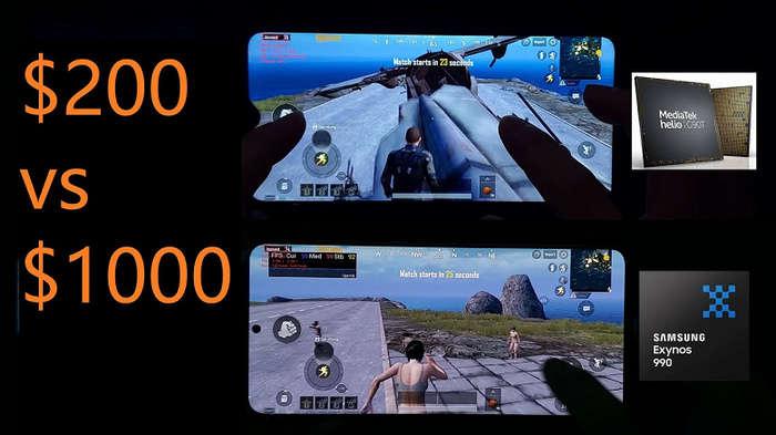 1000 долларлик Galaxy S20+'ни мағлуб этган, ўзи атиги 200 долларлик смартфонни биласизми? («Жонли» тест видеоси)