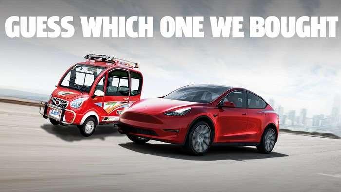 Alibaba'да ҳатто флагман смартфонлардан ҳам арзон электромобил сотиляпти! (+«жонли» видео)