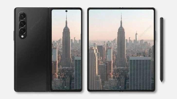 Samsung Galaxy Z Fold3 uchun ishlab chiqarilgan g'ilofda stilus uchun uya bo'ladi