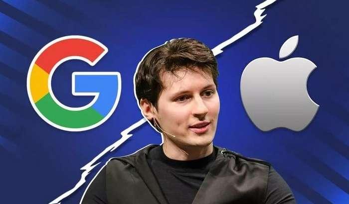Telegram асосчиси Apple ва Google'ни жиддий айблаб, уларнинг гегемонлигини тўхтатиш йўлини кўрсатди