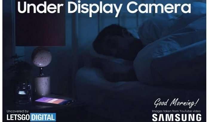 Samsung кўринмас камерали Galaxy Note 21 Ultra'ни видеода кўрсатди!