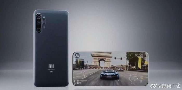 Ekrani yoqiq holdagi Xiaomi Mi 11 Pro'ni ilk bor «jonli» ko'ramiz!