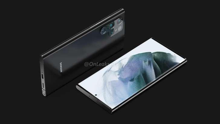 Samsung Galaxy S22 Ultra'ning renderlari e'lon qilindi!