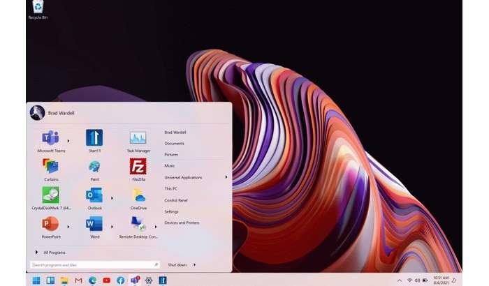 Windows 11 тизимига классик «Пуск» менюсини қайтарамиз