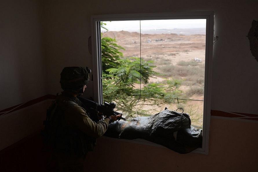 Ғазо секторидаги Исроил аскари. Israel Defense Forces / Flickr / CC BY-SA 2.0 фотоси